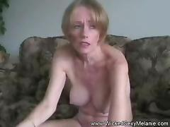 Homemade Sex Funtime With GILF Melanie porn tube video