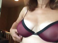 Another new bra - trying it on porn tube video