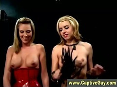 Bdsm bondage femdom mistresses get nasty