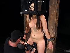 brunette darling gets tortured