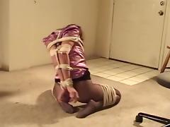 Angelina doing floor-exercises