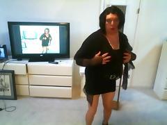 Little black skirt porn tube video