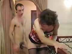 Tranny fun porn tube video