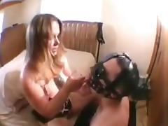 Cuckold eats cum