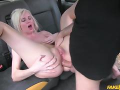 Lexi in Hot Blonde chooses sex over gym - FakeTaxi
