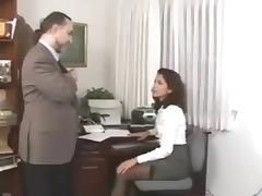 Secretary porn tube video