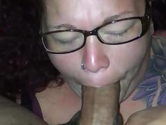 Cum Whore cock slapped on couch with huge messy facial - 3