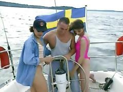 Gangbang, French, Gangbang, Swedish, Lady, Scandinavian