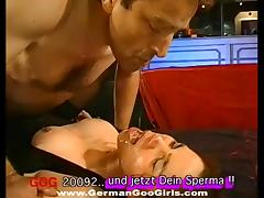 Cum whores coverd in hot spunk in a jizz flying compilation