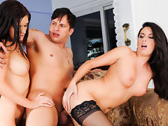 Nikki Daniels & Kendall Karson & Anthony Rosano in Mommy You And Me Make 3, Scene #02 tube porn video