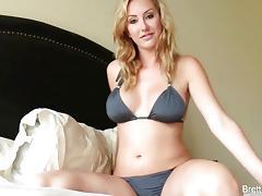 Stunning Brett Rossi masturbating
