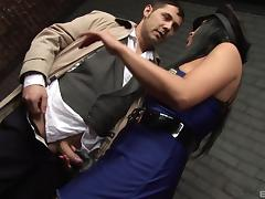 Hottest police officer in history is ready to have sex!