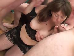 Cute Mommy Gangbanged porn tube video