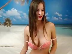 Long-haired beauty Martalike shows his body
