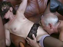 Incredible Anal scene with DP,Mature scenes