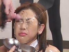 Asian Bukkake and Swap 13 porn tube video