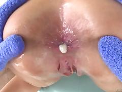 Big dick fucks the pussy and asshole of this milf slut tube porn video