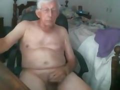 Grandpa stroke on cam 4 tube porn video