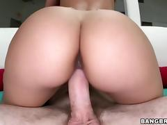 Bubble Butt Remy LaCroix rides fat cock porn tube video