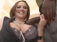 Big Tits, Big Tits, Boobs, Interracial, Stockings, Tits