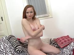 Mature redhead mom with hungry old cunt porn tube video