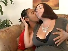 Chunky, BBW, Chubby, Chunky, Fat, Interracial