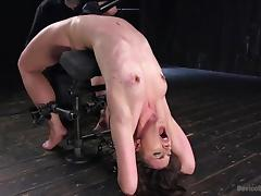 katharine bends over backwards to please tube porn video
