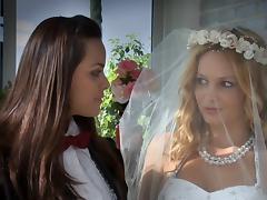 Bride, Bride, Lesbian, Wedding, Married
