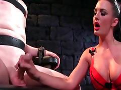 Handjob compilation porn tube video