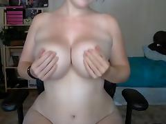 Natural busty girl porn tube video