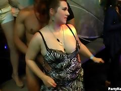 Wild European hussies teasing and sucking cocks at a sex party porn tube video
