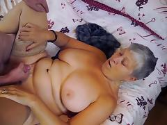 Mature chubby Christina and Sam Bourne together tube porn video