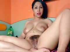 Latina, Big Tits, Boobs, Hairy, Latina, Webcam