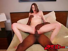 Jasmine Delaton Loves Big Black Cock