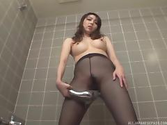 Japanese Old and Young, Asian, Bath, Bathing, Bathroom, Couple