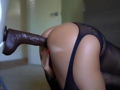 Son, Big Tits, Lingerie, Masturbation, Lady, Son