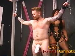 Horny stallion likes having kinky fun with a smoking hot bab