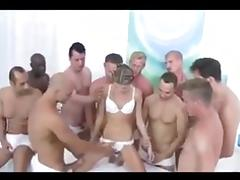 Gina gang bang porn tube video