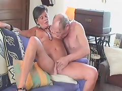 Mom and Boy, Granny, Mature, Old, Slut, Grandma