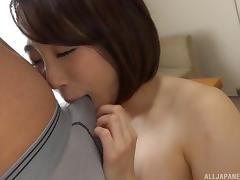 Fascinating Asian chick moans as the guy pushes dick into her depths porn tube video