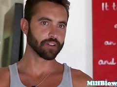 Bigboobs bikini milf throated rough in trio porn tube video