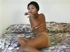 All that Marina wants is to experience the doggy style penetration