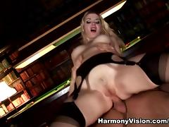 Annette Schwarz in Double Penetrating The Maid - HarmonyVision porn tube video