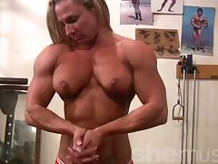 Bodybuilder, Gym, Muscle, Softcore, Undressing, Acrobatic