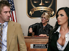 Nikki Benz & Danny D in ZZ Courthouse: Part Two - Brazzers porn tube video