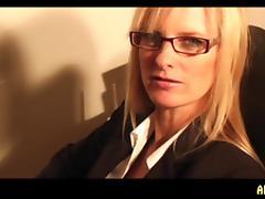 DirtyTina: Die Sekretaerin Part2
