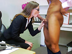 Cum in Her Eyes, Ass, Big Cock, Big Tits, Blowjob, Boobs