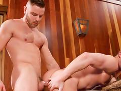 Tahoe - Cozy Up XXX Video: Nick Sterling, Owen Michaels