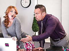 Marie McCray & Johnny Castle - NaughtyOffice porn tube video
