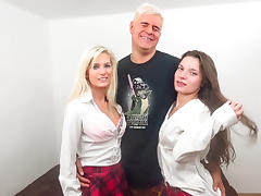 Candee Licious & Anita B in The Dan Takes 2 Hotties  - ImmoralLive
